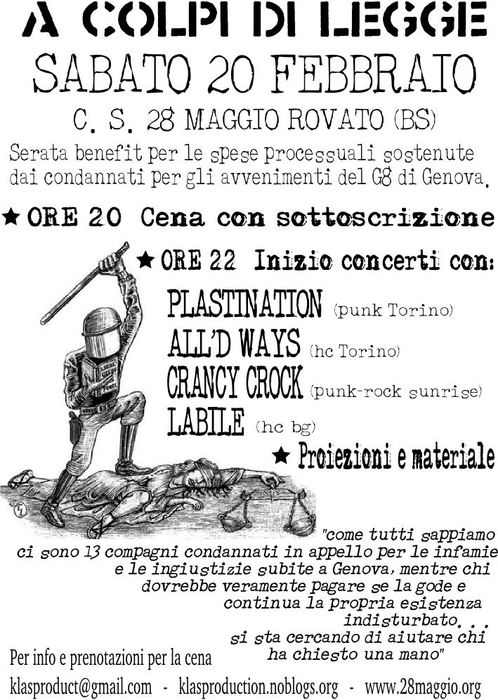 20 febbraio Rovato